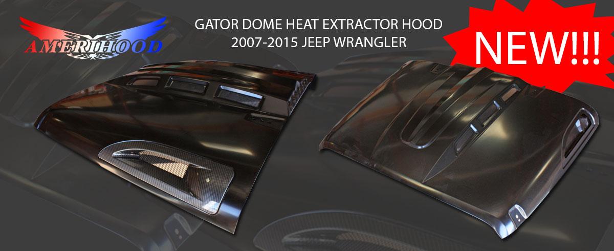 Jeep Wrangler Gator Dome