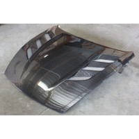 AMU Style Carbon Fiber Hood For 2009-2017 Nissan 370z