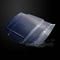 Chevrolet Camaro SS 2014-2015 Type-SMS Style Functional Heat Extractor Ram Air Hood(Carbon Fiber)