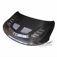 R1 Style Carbon Fiber Hood For 2009-2013 Kia Forte