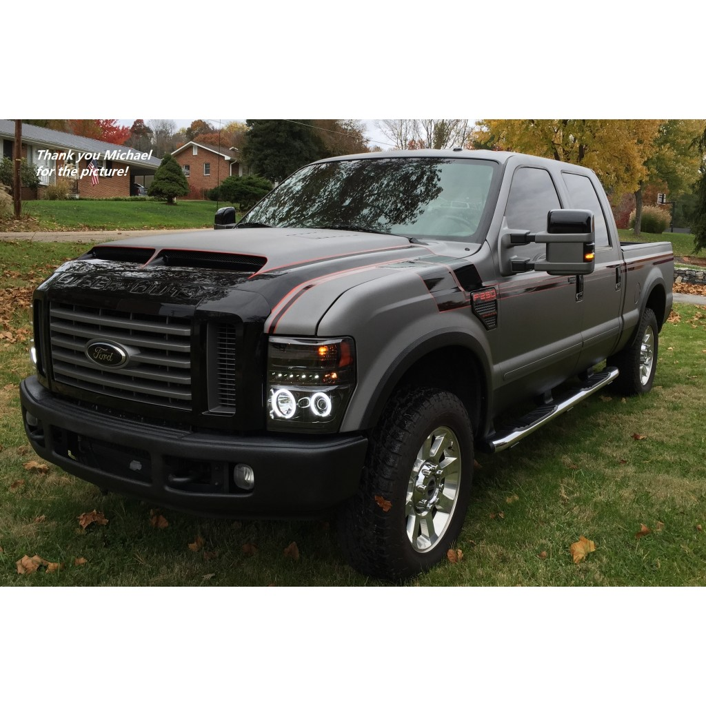 ford f 250 2008 2010 type e style. Black Bedroom Furniture Sets. Home Design Ideas