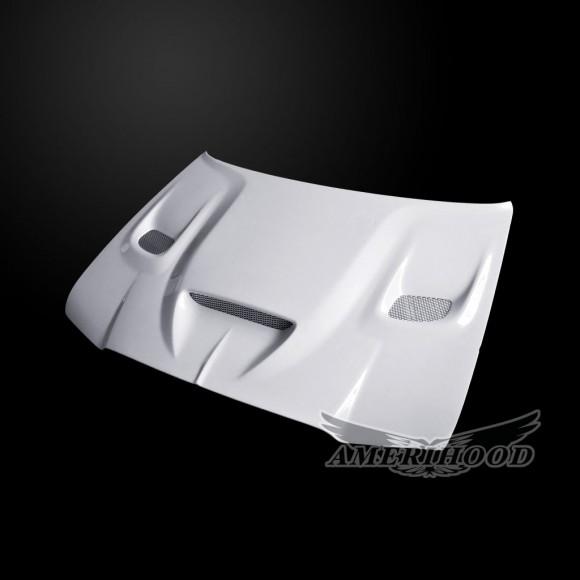 Chrysler 300 2005-2010 Type-HC Style Functional Heat Extractor Ram Air Hood