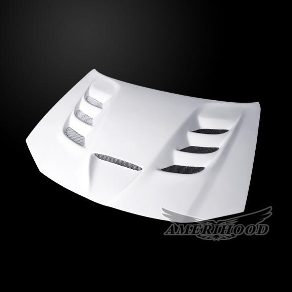 Chrysler 300 2011-2021 VIP Style Functional Heat Extractor Ram Air Hood