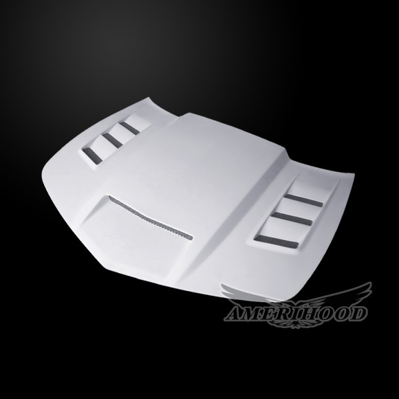 Chevrolet Camaro LS/LT 2014-2015 V6 ONLY Type-VIP Style Functional Heat Extractor Ram Air Hood