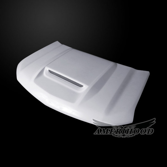 Chevrolet Silverado 1500 2019-2021 Type-RS Style Functional Ram Air Hood