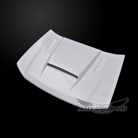 Chevrolet Trailblazer 2002-2009 Type-SMS Style Functional Heat Extractor Ram Air Hood