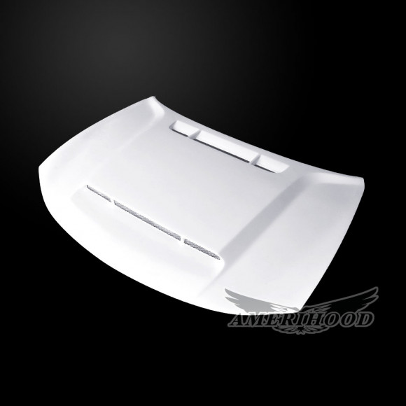 Dodge Charger 2015-2019 DEM Style Functional Heat Extractor Ram Air Hood