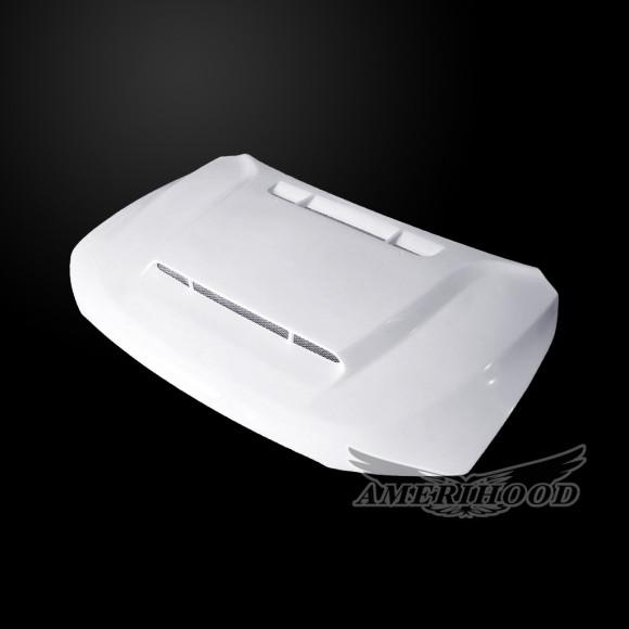 Dodge Durango 2011-2019 DEM Style Functional Heat Extractor Ram Air Hood