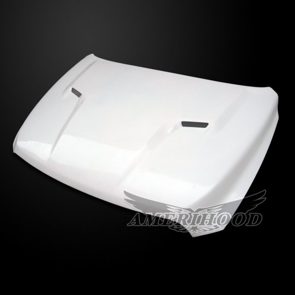 Dodge Ram 2500 2010-2018 Type-CLG Style Functional Ram Air Hood