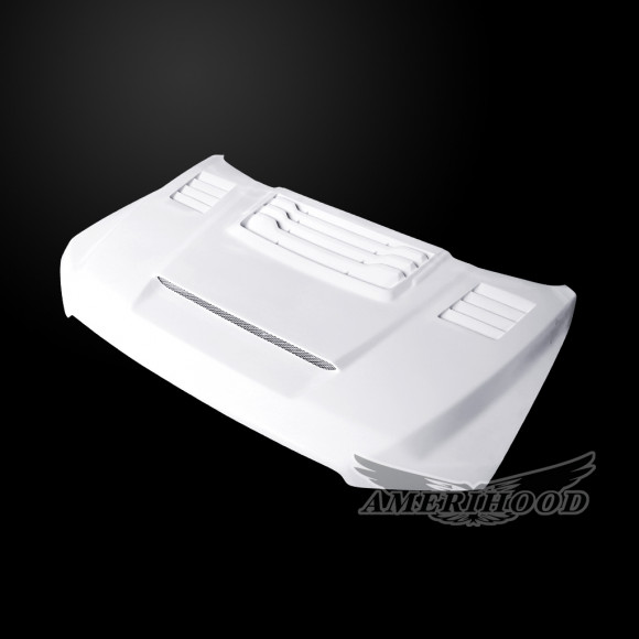 Ford F-150 2015-2020 RIP Style Functional Heat Extractor Ram Air Hood
