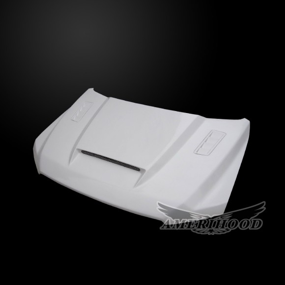 Ford F-150 2015-2018 SSK Style Functional Heat Extractor Ram Air Hood