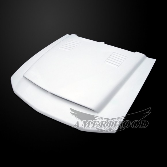 Ford Mustang Shelby GT500 2007-2009 SSE Style Functional Heat Extraction Ram Air Hood
