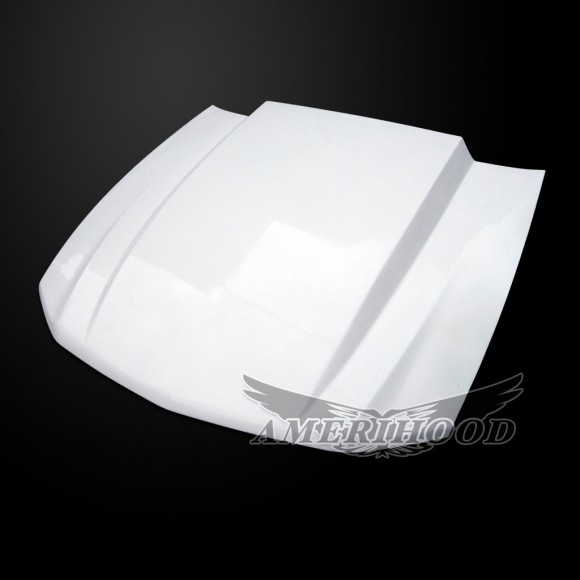 Ford Mustang 2010-2012 3 Inch Cowl Style Functional Heat Extraction Hood