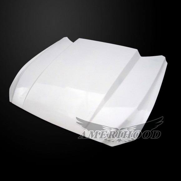 Ford Mustang 2015-2017 3 Inch Cowl Style Functional Heat Extraction Hood