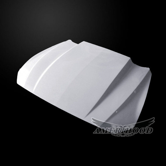 Ford Mustang 2018-2019 3 Inch Cowl Style Functional Heat Extraction Hood