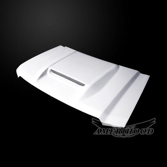 GMC Sierra 1500 2014-2018 Type-RS Style Functional  Ram Air Hood