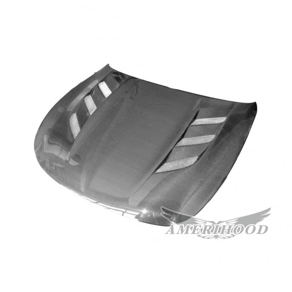 AMU Style Carbon Fiber Hood For 2014-2015 Infiniti Q60 2 Door