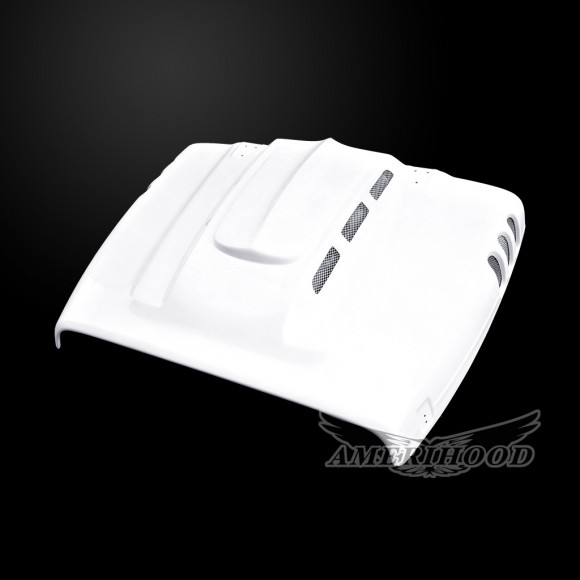 Jeep Wrangler TJ 1997-2006 Type-AGG Style Functional Heat Extraction Hood