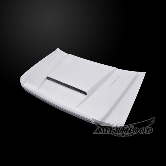 Lincoln Mark LT 2006-2007 SMS Style Functional Heat Extractor Ram Air Hood