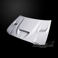 Chrysler 300 2005-2010 Type-HC Style Functional Heat Extractor Ram Air Hood