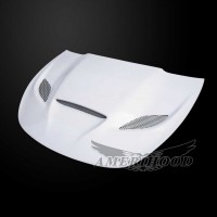 Dodge Dart 2013-2016 Type-HC Style Functional Ram Heat Extractor Air Hood