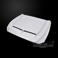 Ford Mustang 2015-2017 Type-E Style Functional Heat Extractor Ram Air Hood