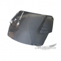 WEB Style Carbon Fiber Hood For 2007-2008 Nissan 350z