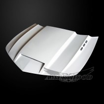 Chevrolet Camaro LS/LT 2014-2015 V6 ONLY Type-SMS Style Functional Heat Extractor Ram Air Hood