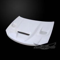 Dodge Avenger 2008-2014 Type-HC Style Functional Heat Extractor Ram Air Hood