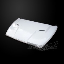Dodge Ram 2002-2008 Type-SRT Style Functional Vented Hood - Front 1/4 View