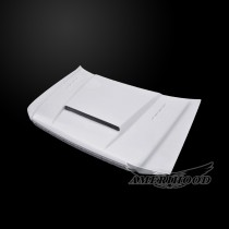 Ford F-150 2004-2008 SMS Style Functional Heat Extractor Ram Air Hood