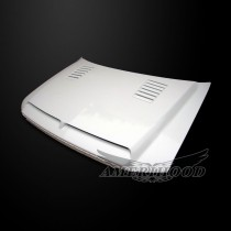 Ford F150 2004-2008 Type-E Style Functional Ram Air Cooling Hood - Front 1/4 View