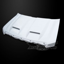 Ford F-150 2009-2014 Type-S Style Functional Ram Air Hood