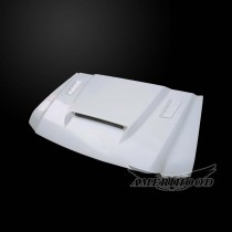 Ford F-350 1999-2003 Super Duty 7.3L Diesel SSK Style Functional Heat Extractor Ram Air Hood