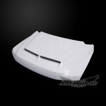 Ford F-350 2017-2019 Type-E Style Functional Heat Extraction Ram Air Hood