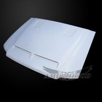 Ford Explorer 2001-2003 2 Door Type-E Style Functional Heat Extractor Ram Air Hood