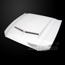 Ford Mustang GT500 2010-2014 Type-C Style Functional Ram Air Hood