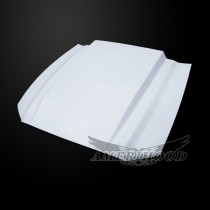 Ford Mustang 2013-2014 3 Inch Cowl Style Functional Heat Extraction Hood