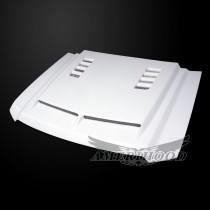 GMC Sierra 1500 2014-2018 Type-E Style Functional Heat Extractor Ram Air Hood