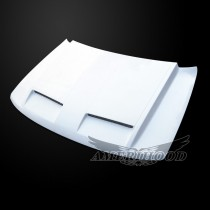Jeep Grand Cherokee 1999-2004 GTR Style Functional Ram Air Hood