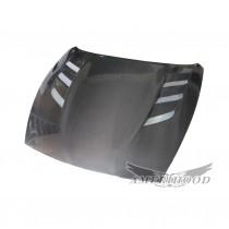 AMU Style Carbon Fiber Hood For 2009-2019 Nissan 370z