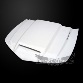 Chevrolet Camaro SS 2014-2015 Type-SMS Style Functional Heat Extractor Ram Air Hood