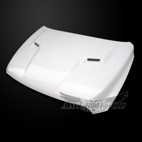 Dodge Ram 2500 2010-2018 Type-CLG Style Functional Ram Air Hood