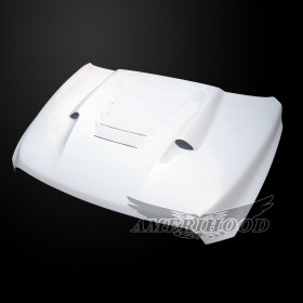 Dodge Ram 2500 2010-2018 Type-S Style Functional Heat Extractor Ram Air Hood