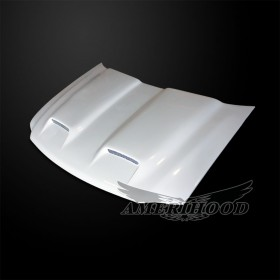 Ford Expedition 1997-2002 Type-S Style Functional Ram Air Cooling Hood