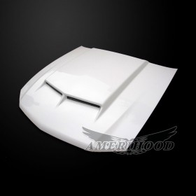 Ford Mustang 2010-2012 Type-C Style Functional Ram Air Hood