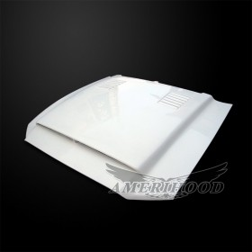 Ford Mustang GT500 2010-2014 Type-SS Style Functional Heat Extraction Ram Air Hood