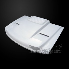 GMC Sierra 3500HD 2007-2010 Cowl Type-2 Style Functional Ram Air Hood